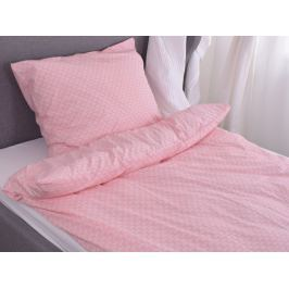Homeville Homeville povlečení 100% bavlna Aini růžová 140x200cm+70x90cm