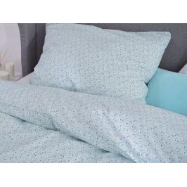 Homeville Homeville povlečení 100% bavlna Albertiina sv. modrá 140x200cm+70x90cm
