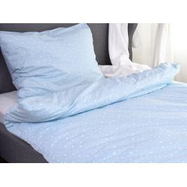 Homeville Homeville povlečení 100% bavlna Arja sv. modrá 140x200cm+70x90cm