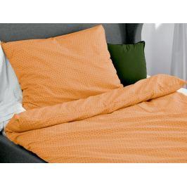 Homeville Homeville povlečení 100% bavlna Aina oranžová 140x200cm+70x90cm