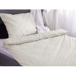 Homeville Homeville povlečení 100% bavlna Aliisa béžová 140x200cm+70x90cm
