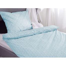 Homeville Homeville povlečení 100% bavlna Aliisa sv. modrá 140x200cm+70x90cm