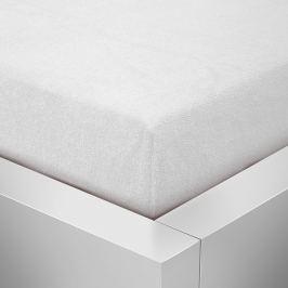 Homeville Homeville froté prostěradlo bílá - 90x200 cm