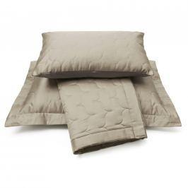 Vandyck Vandyck Luxusní saténový přehoz na postel Sand - písková - 180x260 cm