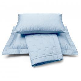 Vandyck Vandyck Luxusní saténový přehoz na postel Dusty blue - sv. modrá - 180x260 cm