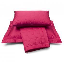 Vandyck Vandyck Luxusní saténový přehoz na postel Raspberry - malinová - 180x260 cm