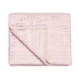 Vandyck Vandyck Háčkovaný přehoz na postel 180x240 cm Light pink - růžová