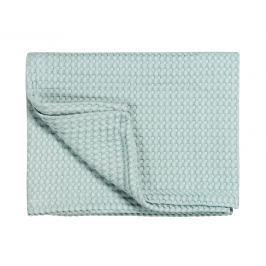 Vandyck Vandyck Luxusní přehoz na postel Home Piqué waffle Celadon green - sv.zelená - 160x250 cm