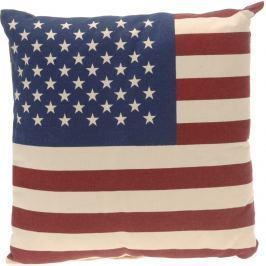Home collection Dekorační polštářek Americká vlajka 40x40 cm