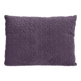 Home collection Prošívaný sametový polštář 60x45 cm fialová
