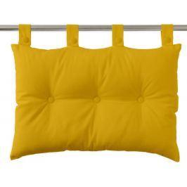 TODAY Závěsný polštář k posteli 70x45 cm Safran - žlutá