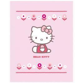 CTI Fleece dečka Hello Kitty Caroline 110x140cm