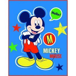 CTI CTI Fleece dečka Mickey Expression 110x140 cm