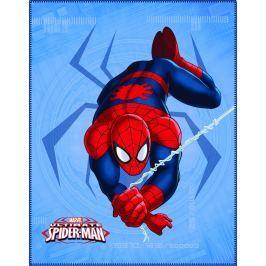 CTI CTI Fleece dečka Spiderman Spider 110x140 cm Dětské deky