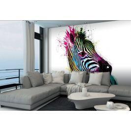 1Wall 1Wall Vliesová fototapeta Murciano Zebra 366x253 cm Tapety