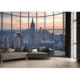 1Wall 1Wall Vliesová fototapeta Výhled na New York 366x253 cm