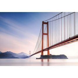 Wizard+Genius W+G vliesová fototapeta Xihou bridge 366x254 cm