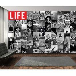 1Wall 1Wall Kreativní koláž 64 dílů 37,5 x 27,5cm časopis LIFE Tapety