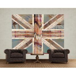 1Wall 1Wall fototapeta Anglická vlajka 158x232 cm