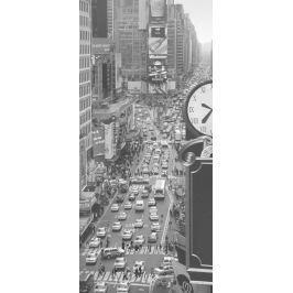 1Wall 1Wall fototapeta Times square černobílá 95x210 cm