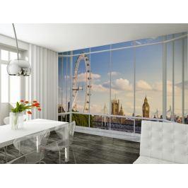 1Wall 1Wall fototapeta Výhled na Londýn 315x232 cm