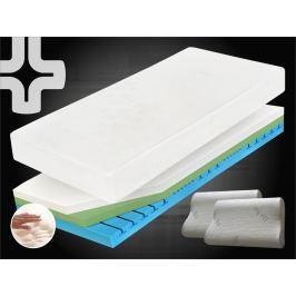 Curem Ortopedická matrace CUREM visco C4500 - 80x200 cm | 1+1 zdarma (2ks) | 25 cm