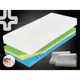 Curem Ortopedická matrace CUREM visco C3500 - 80x200 cm | 1+1 zdarma (2ks) | 22 cm