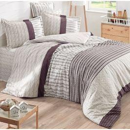 Halley home Halley home povlečení 100% bavlna Knitting pletenina - 140x200cm / 70x90cm