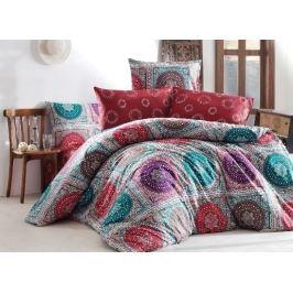 Homeville Povlečení 100% bavlna Isabella se dvěma povlaky na polštář - 140x200 / 50x70+70x90 Ložní povlečení