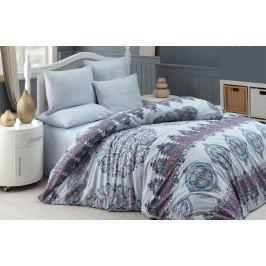 Homeville Povlečení 100% bavlna Alexi se dvěma povlaky na polštář - 140x200 / 50x70+70x90 Ložní povlečení