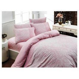 Homeville Povlečení 100% bavlna Pink powder se dvěma povlaky na polštář - 140x200 / 50x70+70x90