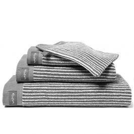 Vandyck Vandyck Ručník Home Petit Ligne Mole grey - šedá - 60x110 cm Ručníky