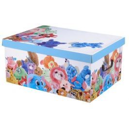 Home collection Úložné krabice 49x39x24cm plyšová zvířátka