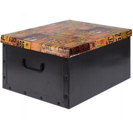 Home collection Úložná krabice hobby kutilství 49,5x39x24cm