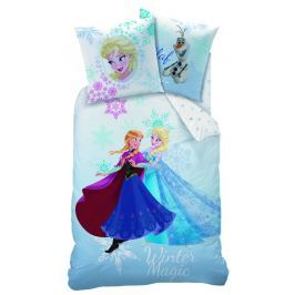CTI CTI Povlečení Disney Frozen Winter (Ledové království) 140x200,70x90 Ložní povlečení