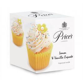 Price´s LIMITOVANÁ EDICE vonná svíčka ve skle Muffiny vanilka & citron 350g