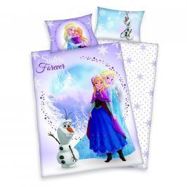 Herding Bavlněné povlečení pro miminka Frozen Ledové království 135x100,40x60 Ložní povlečení