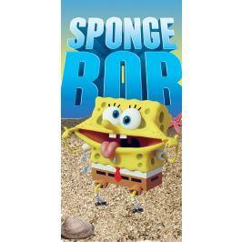 Halantex Osuška Sponge Bob na mořském dně 70x140 cm