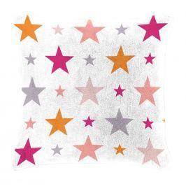 Mistral home Dětský polštářek beránek Mistral Home Starry sky růžová hvězdičky 40x40 cm