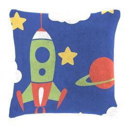 Mistral home Dětský polštářek beránek Mistral Home Space vesmírné lodě 40x40 cm