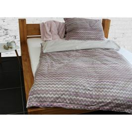 Gipetex Natural Dream Italské povlečení 100% bavlna LUX Persia fialková - 140x200cm / 70x90cm