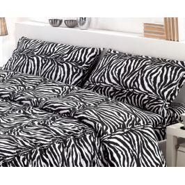 Gipetex Natural Dream Italské povlečení bavlna LUX Zebrato - 140x220cm / 70x90cm