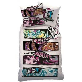 CTI Povlečení Monster high White velvet-140x200,60x80