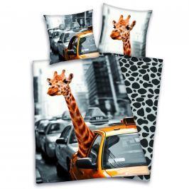 Herding Povlečení New York žirafa 140x200,70x90
