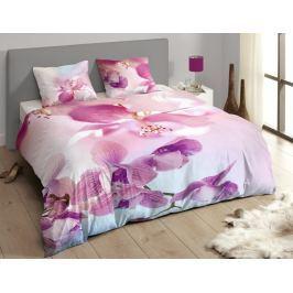 Descanso Luxusní saténové povlečení DESCANSO 9260 Olivia 3D květy - 140x200-220 / 60x70 cm