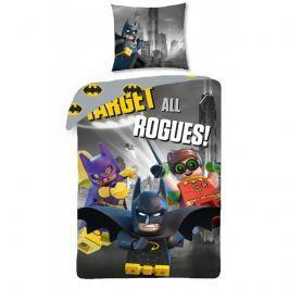 Halantex Halantex povlečení Lego Batman 140x200cm + 70x90cm