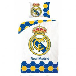 Halantex Halantex povlečení FC Real Madrid 5013BL 140x200cm + 70x90cm