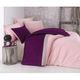 Cottonbox Cottonbox povlečení 100% bavlněné renforcé Burgundy Pink - 140x200 / 70x90 cm