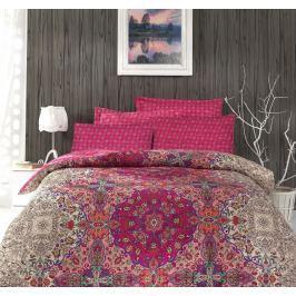 Cottonbox Cottonbox povlečení bavlněný satén Pink Orient - 140x200 / 70x90 cm