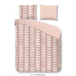 Good Morning 3D povlečení Good Morning 100% bavlna Emerged Pink - 200x200-220 / 2x60x70 cm Ložní povlečení